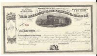 THE PATERSON & NEWARK RAILROAD CO1860