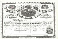 DOUGLAS COPPER MINING CO.BLUE HILL MAINEUNISSUED 1800'S STOCK.CERTIFICATE