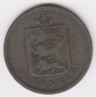 GUERNSEY 1830 4 DOUBLES