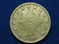 BEAUTIFUL U.S. 1883 LIBERY V NICKEL NO CENTS IN COLLECTIBLE CONDITION 39Z