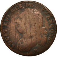 [79810] FRANCE 12 DENIERS FRANOIS 1791 ORLANS BRONZE KM 600.14