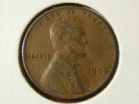 1936 LINCOLN WHEAT CENT FULL WHEAT LINES