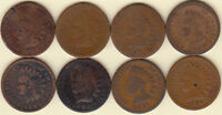 1880 1881 1882 1883 1884 1886 1887 1889     INDIAN HEAD CENTS//FAST SHIPPING