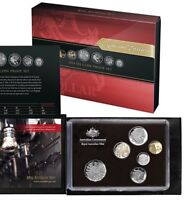 2014 ROYAL AUSTRALIAN MINT PROOF COIN SET ONLY 1 ON EBAY WORLDWIDE COLOURED $1