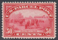 US PARCEL POST SC  Q10 1913 50C MINT NH CAT $600