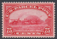 US PARCEL POST SC  Q11 1913 75C MINT NH CAT $200