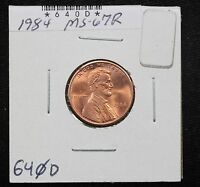 1984 MEMORIAL CENT MS RED