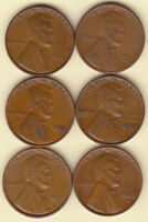 1931 P 1931 D 1932 P 1932 D 1933 P 1933 D LINCOLN CENTS FINE VF FAST SHIPPING