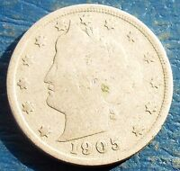 1905 HEAD OF LIBERTY WITH 13 STARS