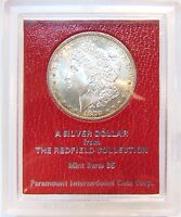 1879 S MORGAN SILVER DOLLAR REDFIELD HOARD COLLECTION PARAMOUNT COIN RED LABEL