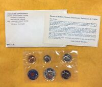 1965 US SPECIAL MINT PROOF COIN SET - SEALED IN CELLOPHANE COINS FROM SF MINT