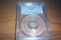 1916 S BARBER DIME..PCGS AU55..ALMOST UNCIRCULATED