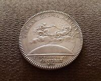 1766 FRANCE SILVER MEDAL/TOKEN LOUIS VI