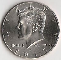 2013 P NIFC KENNEDY HALF DOLLAR   BRILLIANT UNCIRCULATED