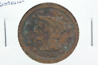 1849 LARGE CENT G SURFACE CORROSION