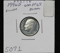 1996 S ROOSEVELT DIME PF 90 SILVER