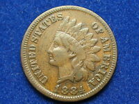 1884 INDIAN HEAD CENT PENNY W/ PARTIAL LIBERTY 10 NICE COLLECTIBLE COIN