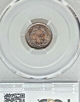 1860 O H10C LIBERTY SEATED HALF DIME PCGS MINT STATE 65 NUMISMATIC RARITY R-8.9 SOME TONE