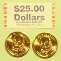2008  D & P JOHN QUINCY ADAMS US PRESIDENTIAL DOLLAR COINS SET UNCIRCULATED
