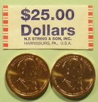2011  D & P RUTHERFORD HAYES US PRESIDENTIAL DOLLAR COINS SET UNCIRCULATED