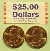 2010  D & P  MILLARD FILLMORE US PRESIDENTIAL DOLLAR COINS SET UNCIRCULATED