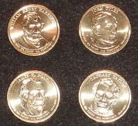 2009 D PRESIDENTIAL DOLLAR COIN SET - 4 COINS  UNCIRCULATED SHIPS FREE