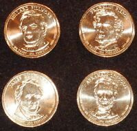 2010 D PRESIDENTIAL DOLLAR COIN SET - 4 COINS  UNCIRCULATED SHIPS FREE