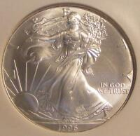 1996 AMERICAN SILVER EAGLE NGC MINT STATE 69