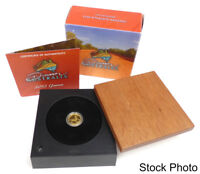 2012 DISCOVER AUSTRALIA GOANNA 1/25 OZ PROOF GOLD $5 W/BOX & COA