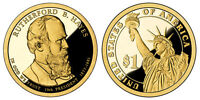 2011 S GEM PROOF RUTHERFORD B HAYES CAM PRESIDENTIAL DOLLAR UNCIRCULATED COIN PF