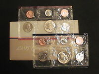 1986 US MINT UNCIRCULATED 10 COIN MINT SET