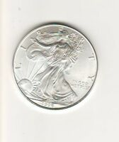 1996 AMERICAN SILVER EAGLE - ONE TROY OUNCE / STAINS 4