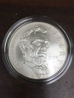 2009 ABRAHAM LINCOLN UNCIRCULATED SILVER COMMEMORATIVE DOLLAR US MINT