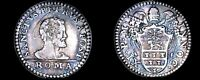 ND 1676 85  ITALIAN STATES PAPAL STATES 1 GROSSO WORLD SILVER COIN   INNOCENT XI