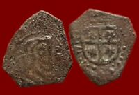 PRADOS  PIRATE SPANISH COLONIAL COIN 8 MARAVEDIS PHILIP IV.