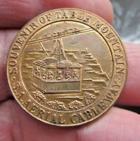 TABLETOP MOUNTAIN CABLEWAY SOUVENIR MEDAL SOUTH AFRICA OPENE
