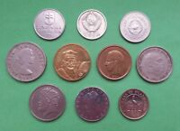 LOT OF 10 DIFFERENT COINS   DIFFERENT COUNTRIES