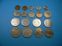 LOT OF   18   COINS FROM INDIA   0804