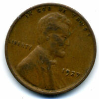 1927 P WHEAT PENNY 1 CENT KEY DATE US CIRCULATED ONE LINCOLN  CENT COIN678