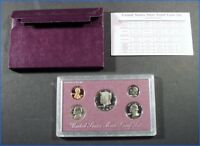 1988S UNITED STATES MINT PROOF SET SEALED CASE & SLEEVE & SPECIFICATION CARD