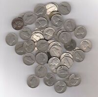 FULL ROLL OF 1939 JEFFERSON NICKELS   DAMAGED/SCRATCHED/CULLS/ETC.  40 COINS
