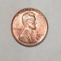 1947 D RED RD UNCIRCULATED BU LINCOLN WHEAT CENT PENNY  687