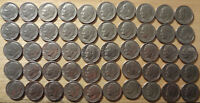 ROLL 1982 D ROOSEVELT DIMES FINE TO ABOUT UNCIRCULATED  50 COINS