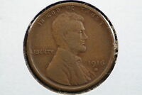 1916-S WHEAT CENT EXTRA FINE  7WFO