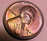 1929-D LINCOLN CENT CHOICE UNCIRCULATED ORANGE & RAINBOW LUSTER MAKE OFFER