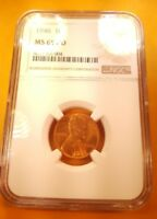 1946 P LINCOLN CENT NGC MINT STATE 65 RD GEM BU UNCIRCULATED PENNY NO TONING NEW HOLDER