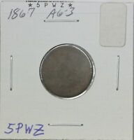1867 INDIAN CENT AG