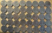 FULL ROLL OF 2009 D JEFFERSON NICKELS   EXTRA FINE   ABOUT UNCIRCULATED