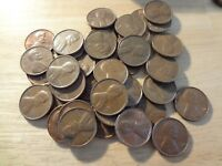ROLL OF 1972 S LINCOLN MEMORIAL CENTS  AVERAGE CIRCULATED