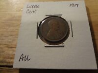 1917 LINCOLN CENT   ABOUT UNCIRCULATED